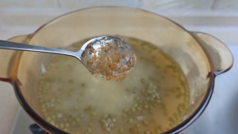 夏日消暑甜汤,放入桂花香