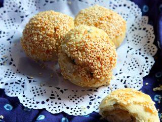 蟹壳黄烧饼