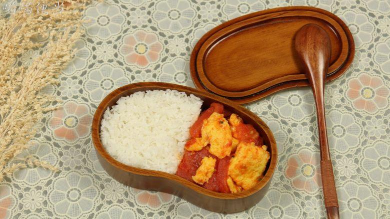 西红柿炒蛋,西红柿炒蛋,作为便当食材,也是很不错的选择哦,健康又美味。