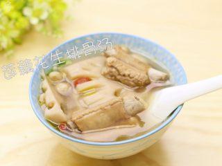 莲藕花生排骨汤