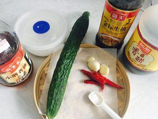 蓑衣黄瓜,食材合集,黄瓜要选取直一点的,比较好操作。