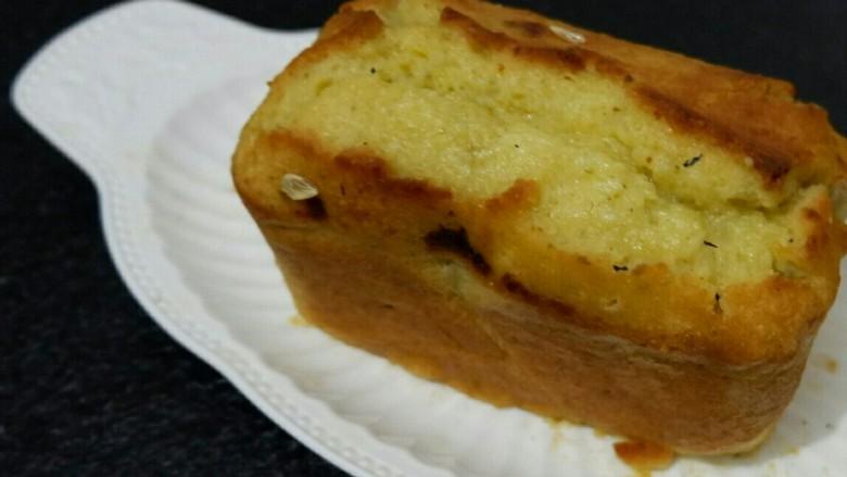 风味独特 金桔磅蛋糕