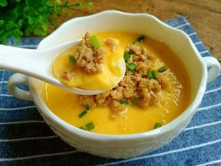 肉沫豆腐蒸蛋