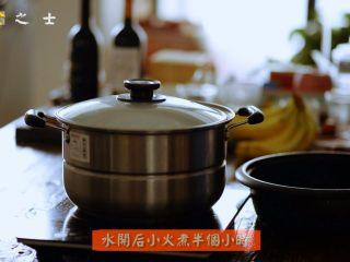 笃出春天的味道,超满足的徽菜——腌笃鲜,水开后,小火煮半个小时