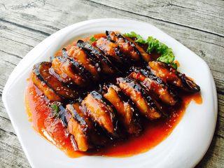 鲜虾茄盒,摆上餐桌,可以开吃喽!