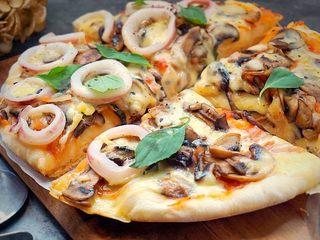 海陆双拼披萨,再看