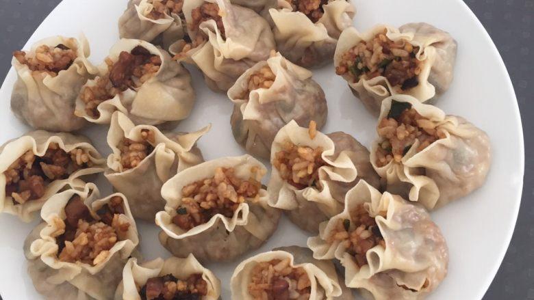 香菇肉糜烧卖