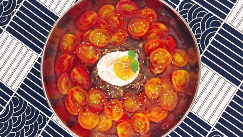 番茄牛肉冷面