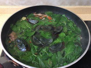 枸杞猪肝皮蛋瘦肉汤(清肝明目,一盘绿