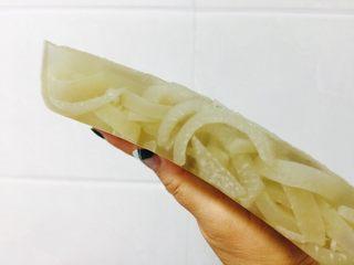 水晶皮冻,非常有弹性