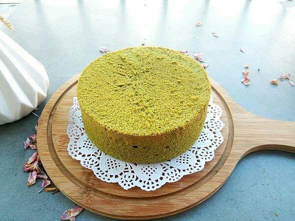 绿色美食+抹茶戚风蛋糕