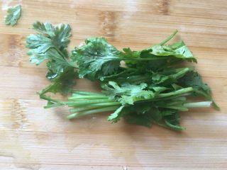 清凉一夏越春卷,香菜切段
