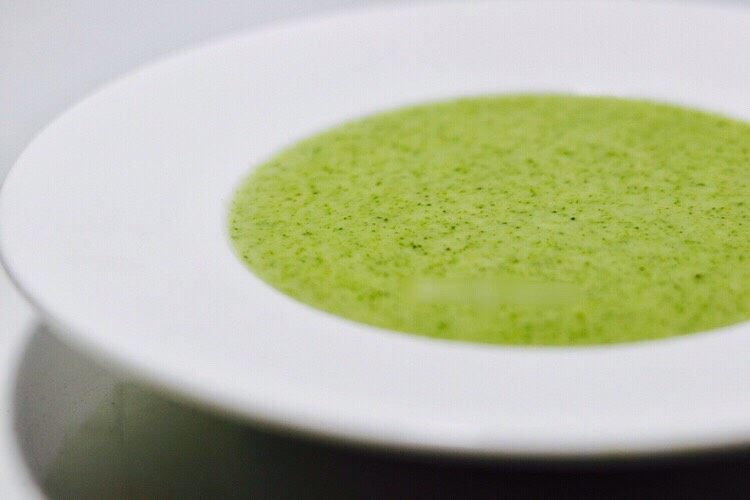 奶香浓郁西兰花汤 换一种吃法吃西兰花
