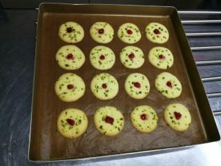 宝宝日常小饼干——开心果薄脆饼,再次烤2分钟即可
