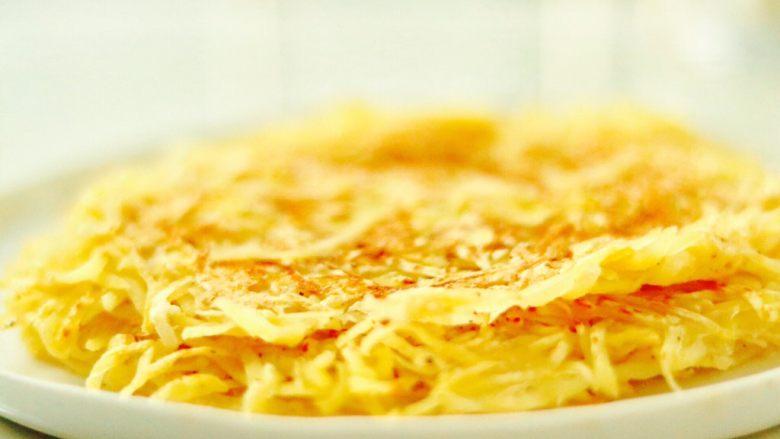 健身主食—超赞的低脂土豆丝饼