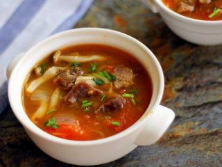 #食二星座#西红柿牛腩汤