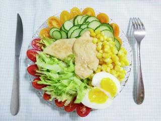 香煎鸡肉沙拉