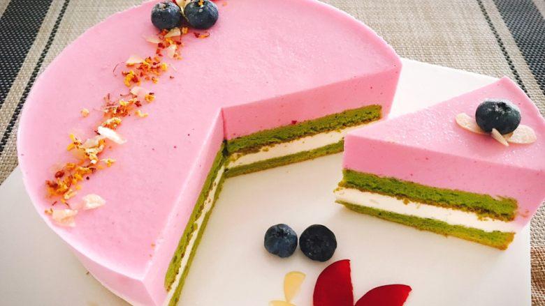 桃花源慕斯蛋糕