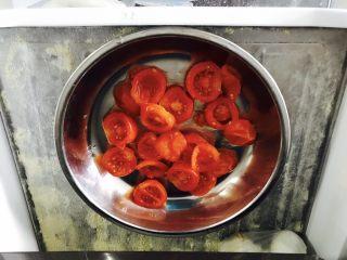 西红柿干,放入冰箱冻40分钟