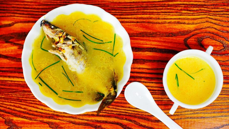 开胃黄金汤—金汤鮰鱼