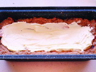 Meatloaf进阶版 (让同事流口水的带饭利器1),然后就用刮刀抹在培根上买👆 也是呈弧线状
