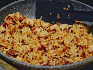 秘制异国风味鸡胸肉腌料&绝佳搭配 (减肥必备),炒米饭 将汁水和米饭洋葱鸡丁融合均匀