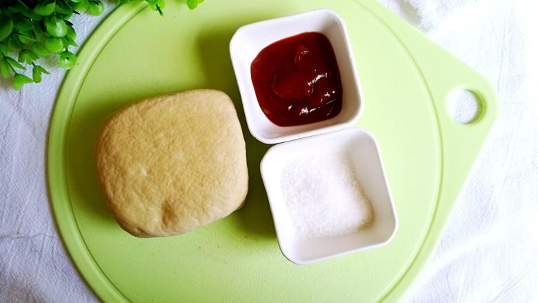 茄汁豆腐,准备食材