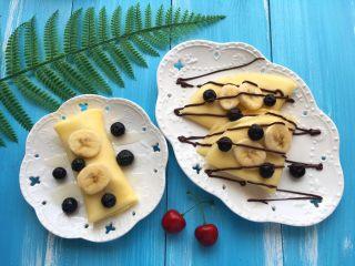 减肥版香蕉可丽饼