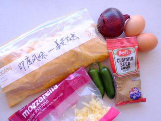 秘制异国风味鸡胸肉腌料&绝佳搭配 (减肥必备),搭配一个印度和欧美结合的创意欧姆蛋 材料如上👆