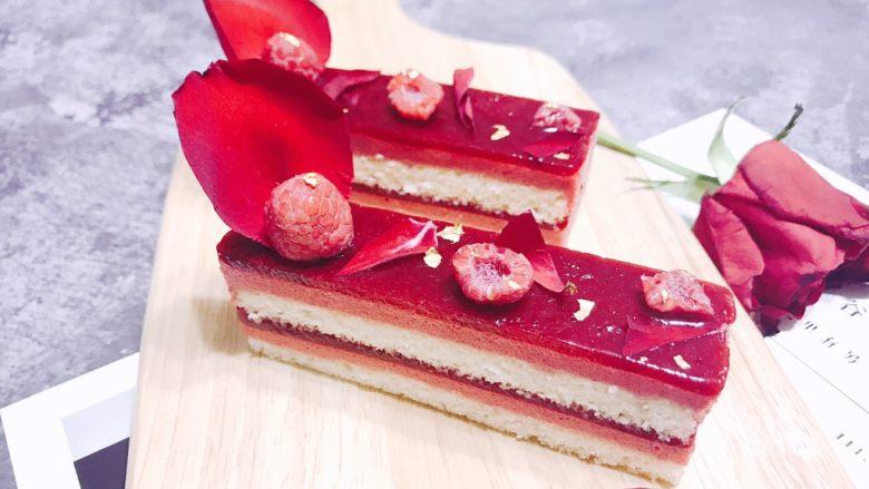 法式覆盆子奶油杏仁蛋糕