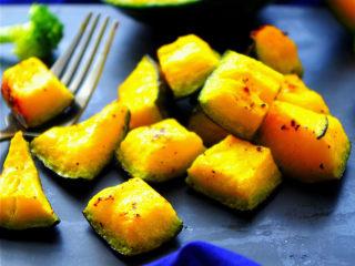 黑椒海盐烤南瓜,简单方便又健康美味
