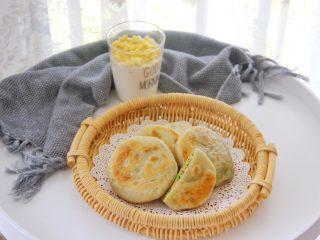 西葫芦鸡蛋饼 ,配上一杯牛奶,能量满满