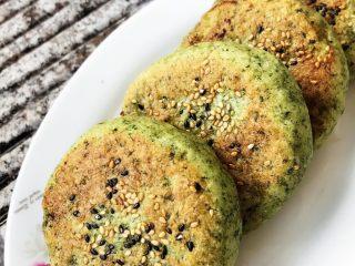 菠菜绿皮馅饼