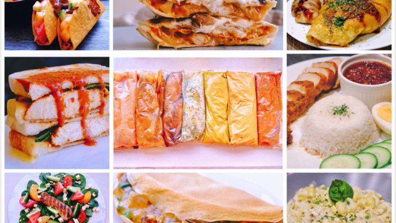 秘制异国风味鸡胸肉腌料&绝佳搭配 (减肥必备)