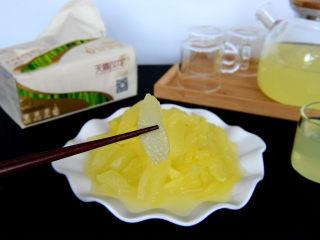 酸甜爽口的柠檬瓜条,口感冰凉,酸甜脆爽。