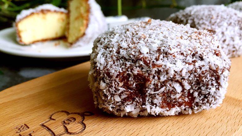 巧克力林明顿蛋糕
