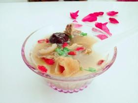 養生紅菇雞湯