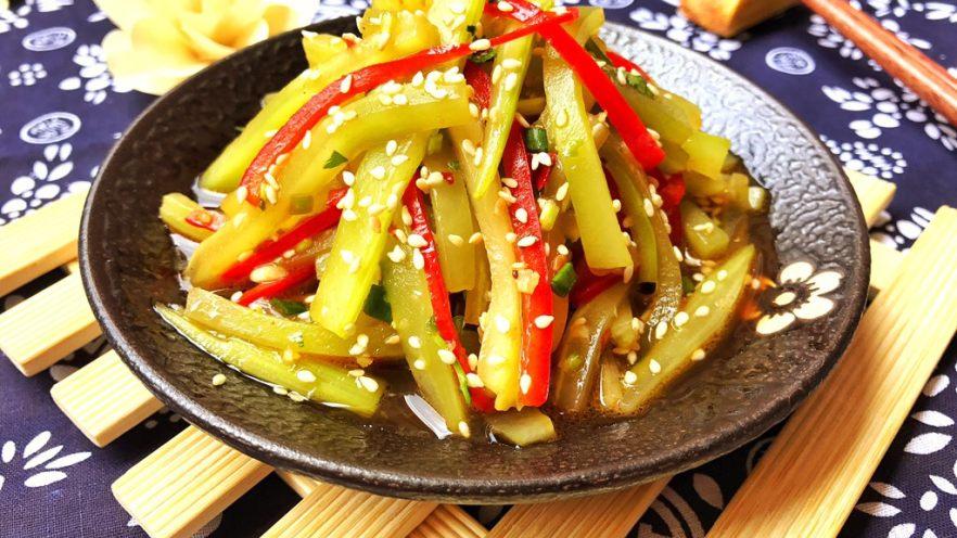 红油莴笋~开胃爽口