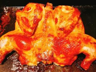 小白烤鸡,烤好的鸡!