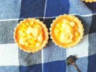 玉米奶酪蛋挞,这就是最后的成品图啦!
