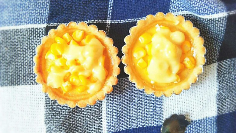 玉米奶酪蛋挞