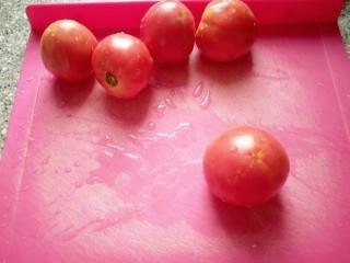 番茄排骨汤,<a style='color:red;display:inline-block;' href='/shicai/ 59/'>番茄</a>我用4个。