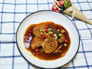 酱汁杏鲍菇(比金针有肉的素牛排)
