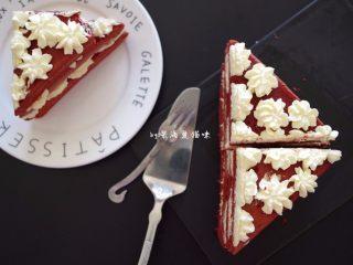 红丝绒蛋糕,美不美