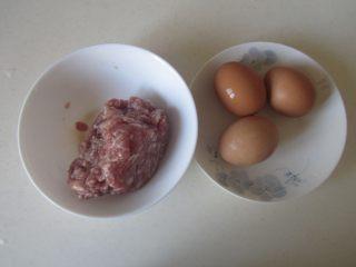 荷包蛋汽水丸子,准备好原材料;