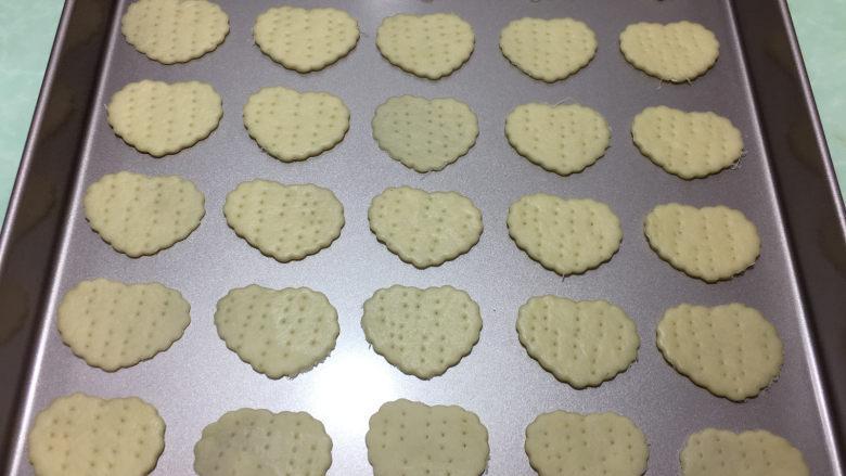苏打棉花糖夹心饼干,20分钟后可以看到饼干明显长厚一点。