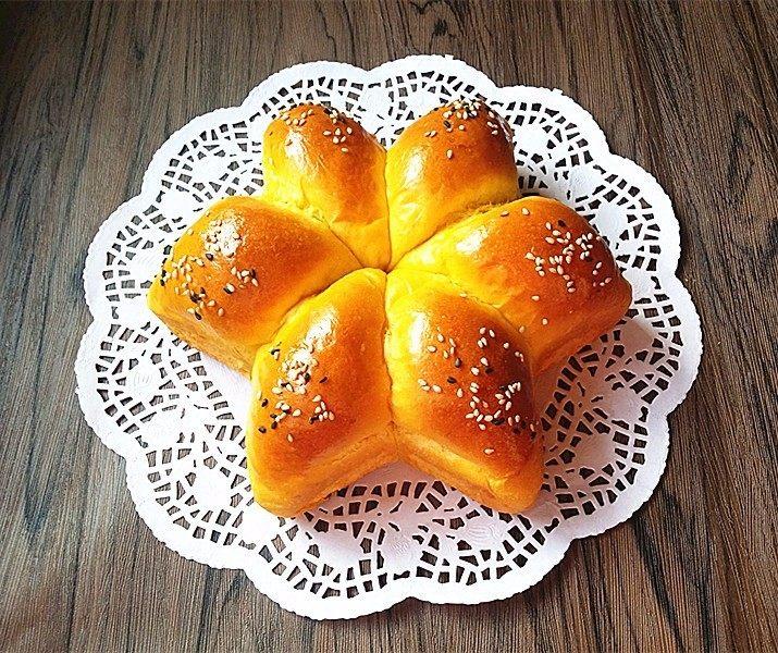 南瓜酸奶亚麻籽油面包(无盐配方)