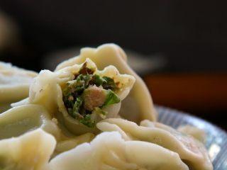 豆角猪肉饺,特别好吃