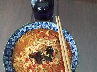 西红柿鸡蛋汤面