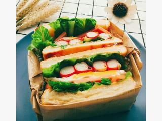沼三明治 颜值与美味💕